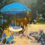 Turquoise Parasol