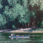 Holidaymakers on the River
