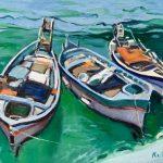 Fishing Boats, Rapallo