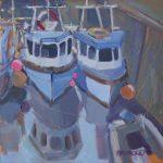 Lobster Boats at Crail
