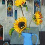 Sunflowers and Windows